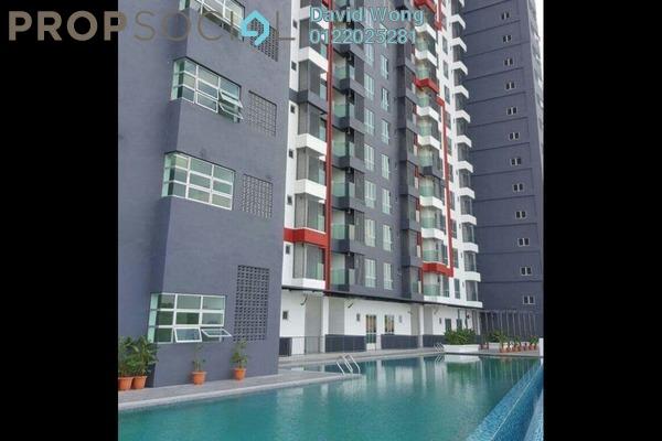 For Rent Condominium at Silk Residence, Bandar Tun Hussein Onn Freehold Semi Furnished 3R/2B 1.05k