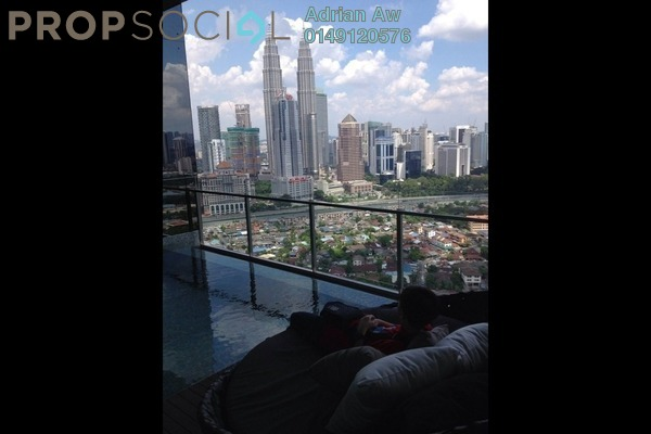 For Sale Condominium at Setia Sky Residences, KLCC Freehold Semi Furnished 1R/1B 1.08m
