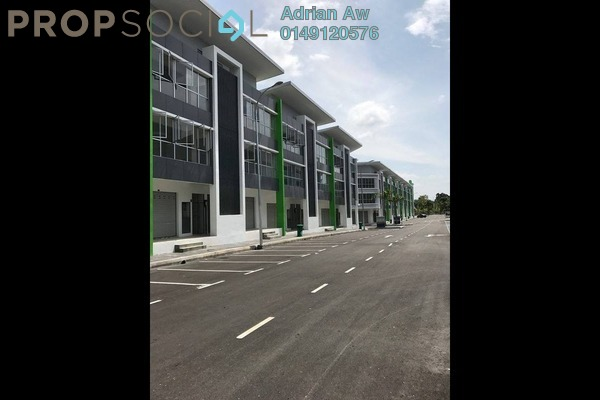 For Rent Shop at Kubica Square, Kajang Freehold Semi Furnished 0R/0B 1.5k