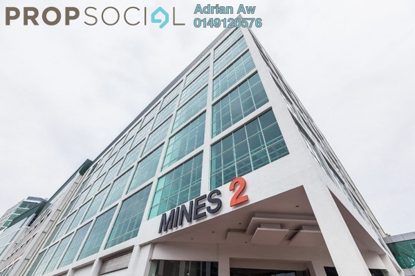 For Rent Shop at Mines 2, Seri Kembangan Freehold Semi Furnished 0R/0B 15.3k