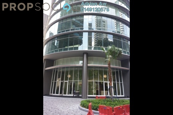 For Rent Condominium at Vortex Suites & Residences, KLCC Freehold Fully Furnished 2R/2B 3.6k