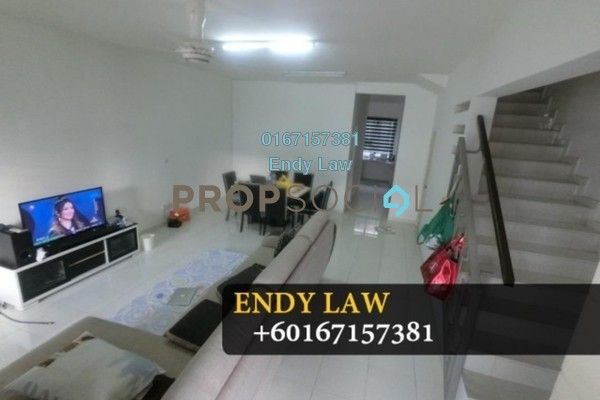 For Sale Terrace at Luciana, Setia Eco Gardens Freehold Semi Furnished 4R/3B 535k