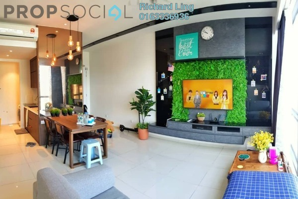 For Rent Serviced Residence at The Robertson, Pudu Freehold Fully Furnished 1R/1B 3.8k