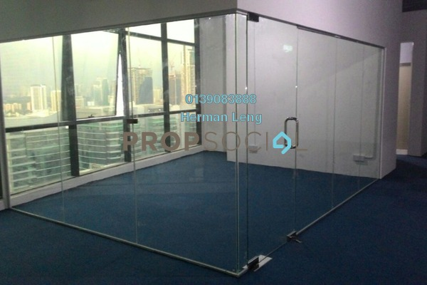 For Rent Office at The Vertical, Bangsar South Freehold Semi Furnished 0R/1B 5.5k