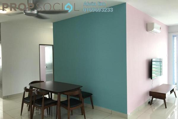 For Rent Condominium at Aurora Residence @ Lake Side City, Puchong Freehold Fully Furnished 3R/2B 2.5k