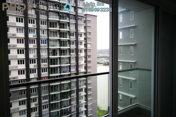 For Rent Condominium at Aurora Residence @ Lake Side City, Puchong Freehold Unfurnished 3R/2B 1.1k