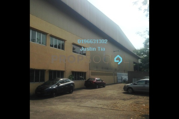 For Rent Factory at Axis Industrial Park, Kota Kemuning Freehold Semi Furnished 0R/0B 67.8k