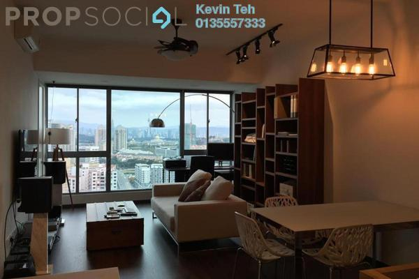 For Sale Condominium at Gateway Kiaramas, Mont Kiara Freehold Fully Furnished 1R/1B 725k