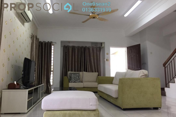 For Rent Terrace at Setia Impian, Setia Alam Freehold Fully Furnished 4R/3B 1.8k