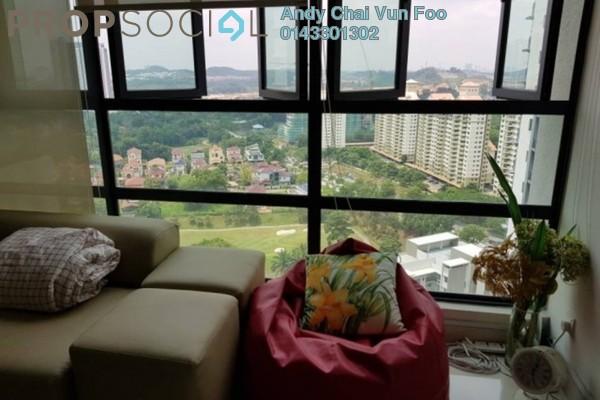 For Rent Condominium at KM1, Bukit Jalil Freehold Semi Furnished 3R/3B 2.8k