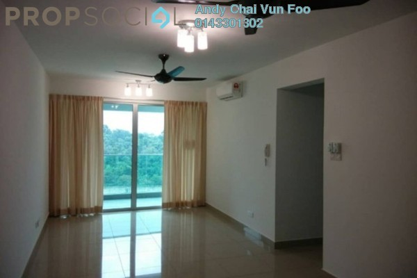 For Rent Serviced Residence at Kiara Residence 2, Bukit Jalil Freehold Semi Furnished 3R/3B 2k