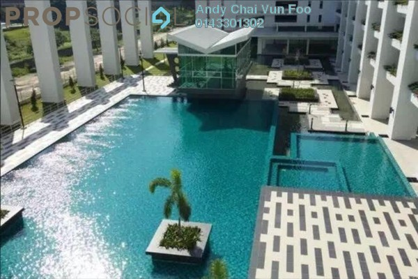 For Rent Serviced Residence at Kiara Residence 2, Bukit Jalil Freehold Semi Furnished 3R/2B 1.7k