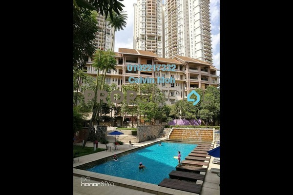 For Sale Condominium at Seri Maya, Setiawangsa Freehold Semi Furnished 3R/2B 650k