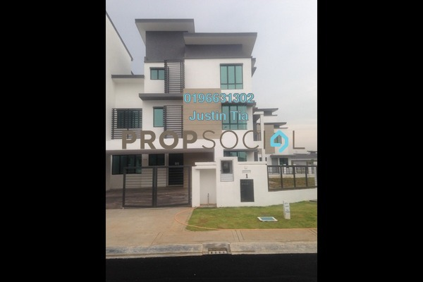 For Sale Superlink at Zircona, Alam Impian Freehold Fully Furnished 7R/7B 1.85m
