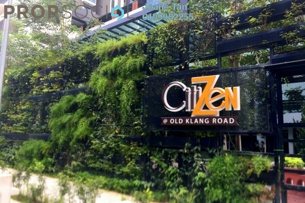 For Rent Serviced Residence at CitiZen, Old Klang Road Freehold Semi Furnished 3R/2B 2k