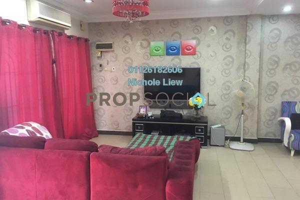 For Sale Link at Taman Jelok Indah, Kajang Freehold Semi Furnished 4R/3B 538k