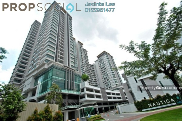 For Sale Condominium at Nautica Lake Suites @ Sunway South Quay, Bandar Sunway Freehold Semi Furnished 4R/3B 835k
