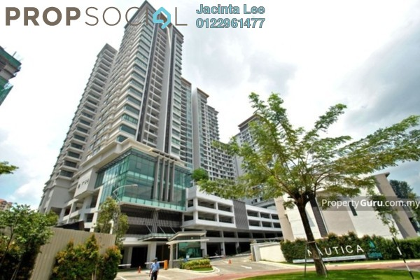 For Sale Condominium at Nautica Lake Suites @ Sunway South Quay, Bandar Sunway Freehold Semi Furnished 3R/3B 747k
