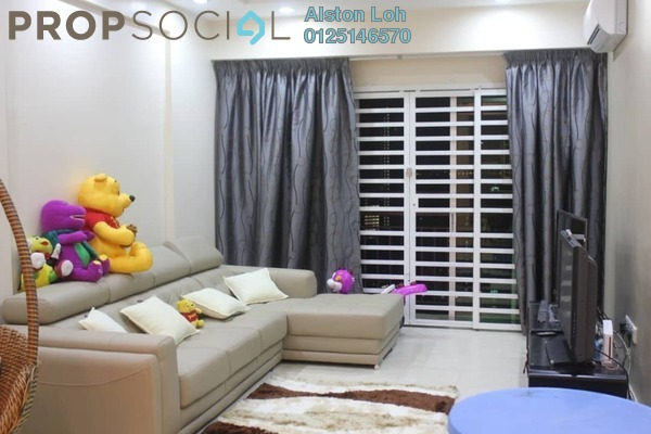 For Sale Condominium at Vista Gambier, Bukit Gambier Freehold Semi Furnished 4R/2B 750k