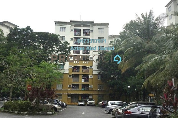 For Sale Apartment at Crystal Tower, Ampang Freehold Semi Furnished 3R/2B 360k