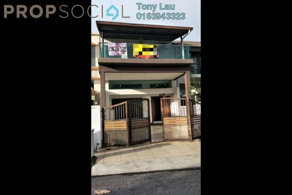 For Sale Terrace at Bukit Manda'rina, Cheras Freehold Semi Furnished 4R/4B 1.3m