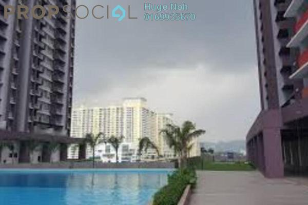 For Rent Condominium at Platinum Lake PV21, Setapak Freehold Semi Furnished 2R/2B 1.25k