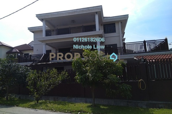 For Sale Bungalow at Taman Connaught, Cheras Freehold Fully Furnished 7R/7B 3m
