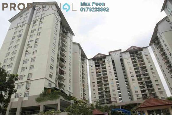 For Sale Condominium at Mentari Condominium, Bandar Sri Permaisuri Freehold Semi Furnished 3R/2B 340k