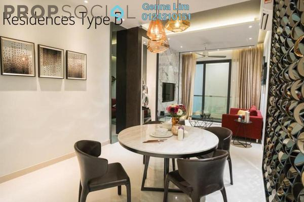 For Sale Serviced Residence at Far East Residence, Kuchai Lama Freehold Semi Furnished 3R/2B 550k