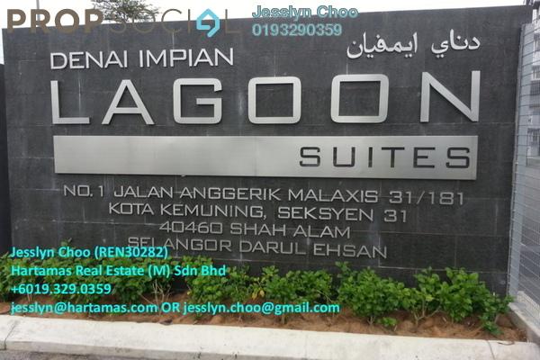 For Sale Condominium at Lagoon Residences, Kota Kemuning Freehold Semi Furnished 2R/2B 450k