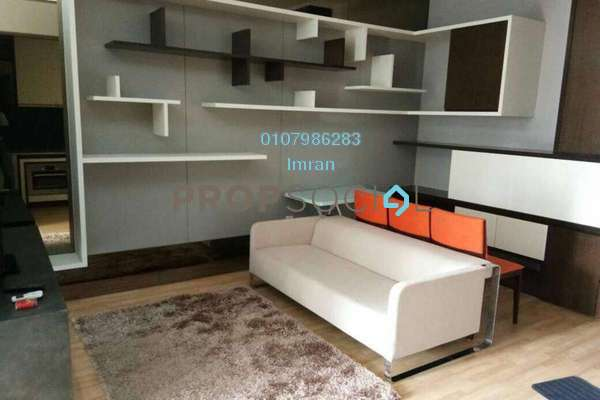 For Rent Serviced Residence at VERVE Suites, Mont Kiara Freehold Fully Furnished 0R/1B 2.5k