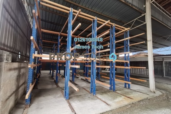 For Rent Factory at Kampung Jawa, Shah Alam Freehold Semi Furnished 0R/0B 12k