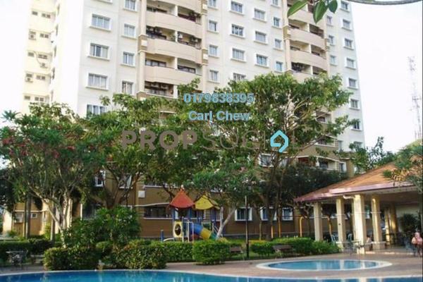 For Sale Apartment at Saraka Apartment, Pusat Bandar Puchong Freehold Semi Furnished 3R/2B 350k