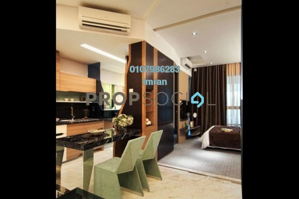 For Sale Serviced Residence at VERVE Suites, Mont Kiara Freehold Fully Furnished 0R/1B 650k