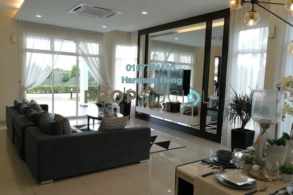 For Sale Semi-Detached at Nusa Sentral, Iskandar Puteri (Nusajaya) Freehold Unfurnished 5R/6B 950k