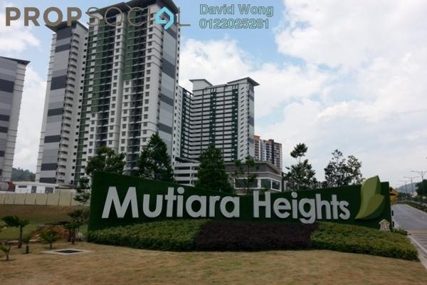 For Rent Condominium at Ivory Residence, Kajang Freehold Semi Furnished 3R/2B 1.1k