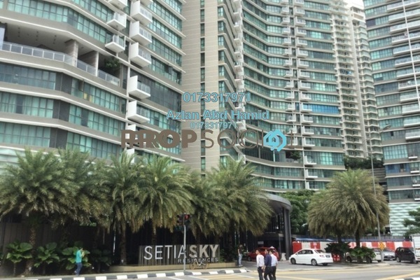 For Sale Condominium at Setia Sky Residences, KLCC Freehold Fully Furnished 4R/3B 1.25m