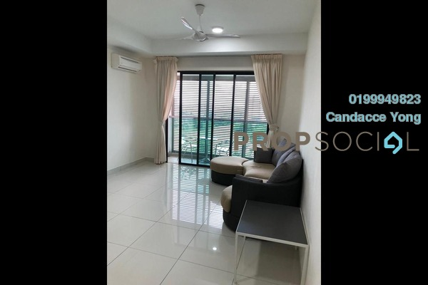 For Rent Serviced Residence at Isola, Subang Jaya Freehold Semi Furnished 2R/2B 3k