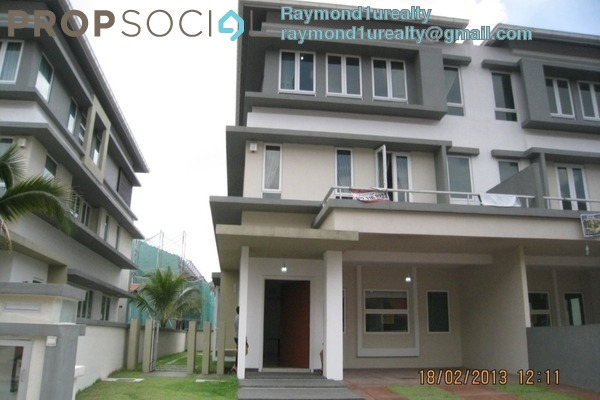 For Rent Semi-Detached at The Rafflesia, Damansara Perdana Freehold Semi Furnished 5R/6B 5k
