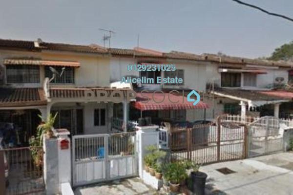 For Rent Terrace at Taman Sri Muda, Shah Alam Freehold Semi Furnished 2R/2B 1.1k