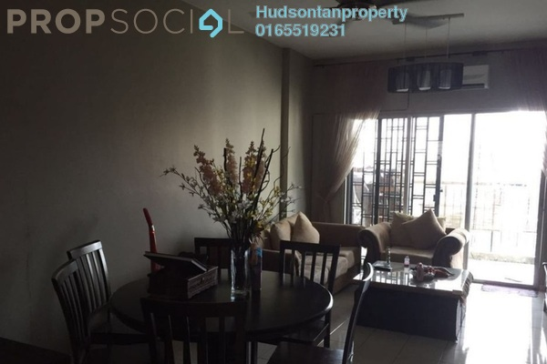 For Sale Condominium at Indahria Apartment, Shah Alam Freehold Semi Furnished 3R/2B 290k