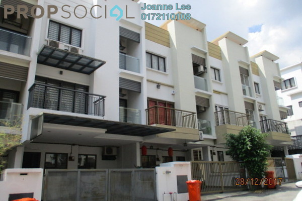 For Sale Townhouse at Westwood Terrace, Bandar Utama Freehold Semi Furnished 3R/3B 640k