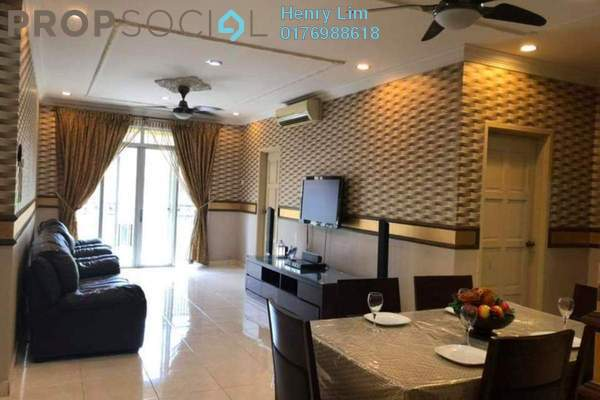 For Rent Condominium at Platinum Hill PV3, Setapak Freehold Fully Furnished 4R/2B 2.2k