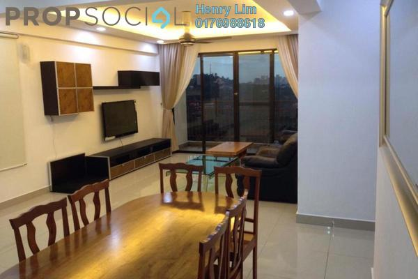 For Rent Condominium at Rivercity, Sentul Freehold Fully Furnished 3R/3B 2.6k