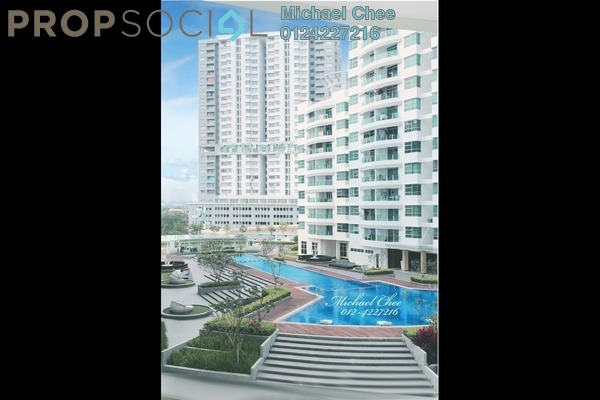 For Rent Condominium at The Oasis, Gelugor Freehold Fully Furnished 3R/2B 2k