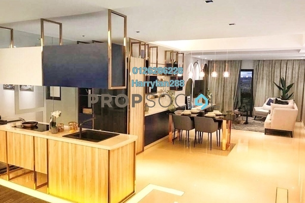 For Sale Condominium at Sensa Residence, Southville City Freehold Semi Furnished 3R/2B 322k