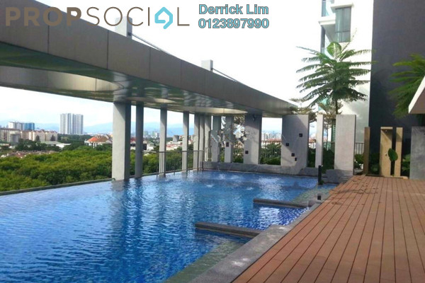 For Sale Condominium at KL Palace Court, Kuchai Lama Freehold Semi Furnished 3R/2B 635k