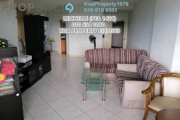 For Rent Apartment at Tabuan Desa, Kuching Freehold Unfurnished 3R/2B 1.6k