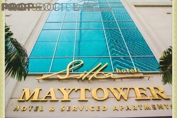 For Sale Condominium at Maytower, Dang Wangi Freehold Fully Furnished 1R/1B 405k