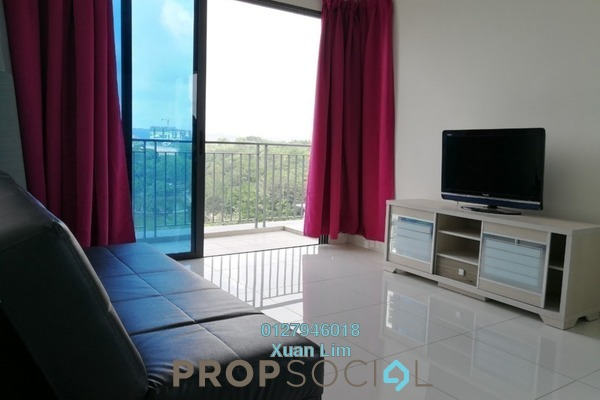 For Rent Condominium at The Link 2 Residences, Bukit Jalil Freehold Fully Furnished 2R/2B 2k